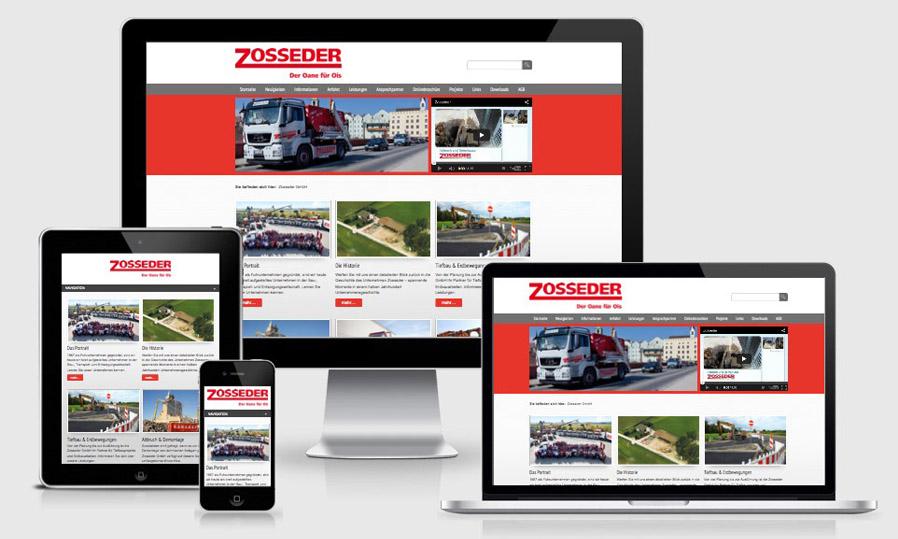 Neuer Webauftritt www.zosseder.de