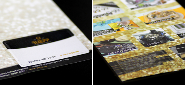 Die Kundenkarten von Juwelier RUEPP