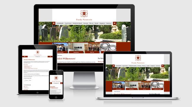 Neugestaltung der Website