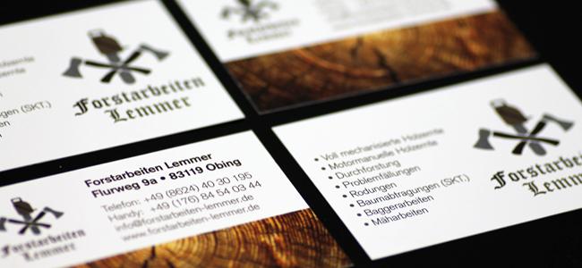 Logo und Visitenkarten