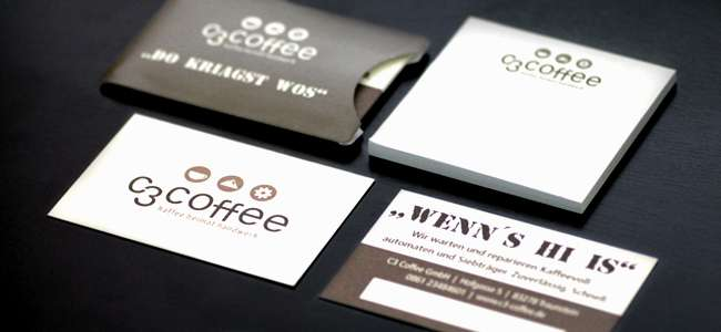 Visitenkarten, Kartenhüllen, Haftnotizen … und vieles mehr!