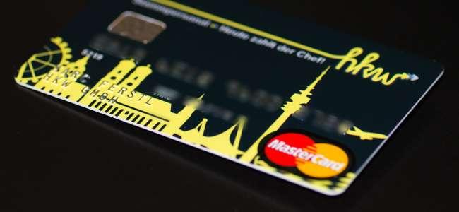 Kreditkarten für das Stammpersonal von hkw