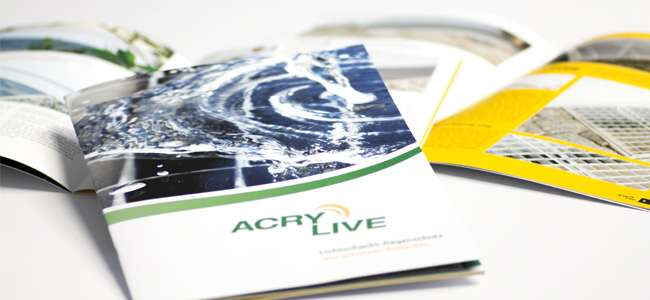 Die neue AcryLive Broschüre