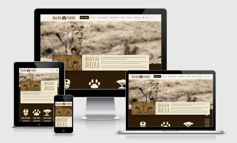 Die neue Macho Porini Homepage ist online!
