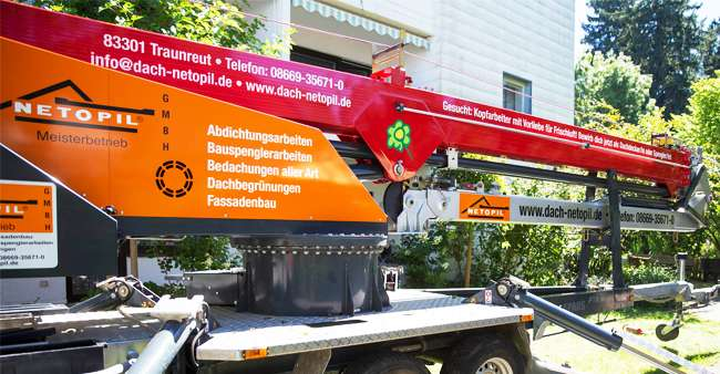 Kranbeschriftung für Netopil GmbH