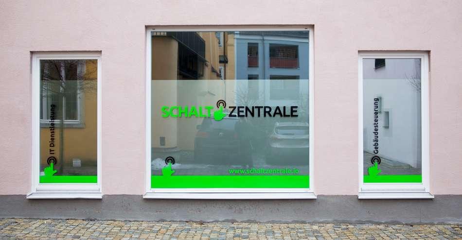 Schaltzentrale GmbH Fensterbeschriftung