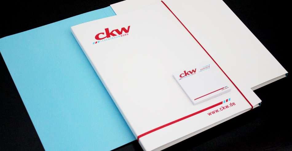 Printprodukte für ckw Computer & Büro GmbH