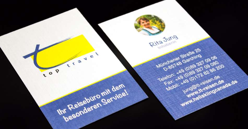 Stylische Visitenkarten
