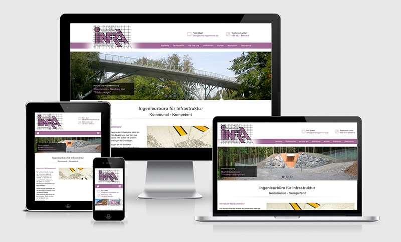 Responsive Webdesign für Ingenieure aus Rosenheim