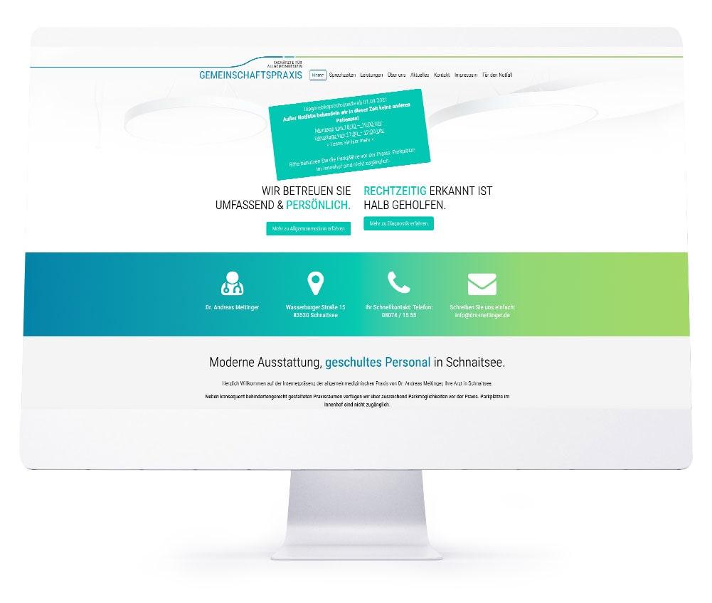 Die perfekte Webseite für Ihr Hotel - Gemeinschaftspraxis Drs. Meitinger
