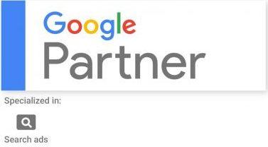 Google Partner Logo Suchmaschinenwerbung
