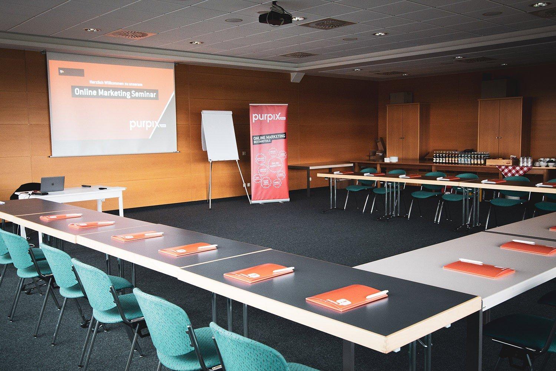 Spannendes Online Marketing Seminar bei purpix