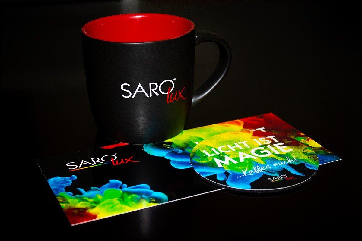 Ausgezeichnete Kreation für unseren Kunden SARO-lux