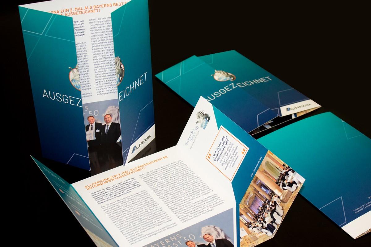 Flyer Design - Allpersona GmbH