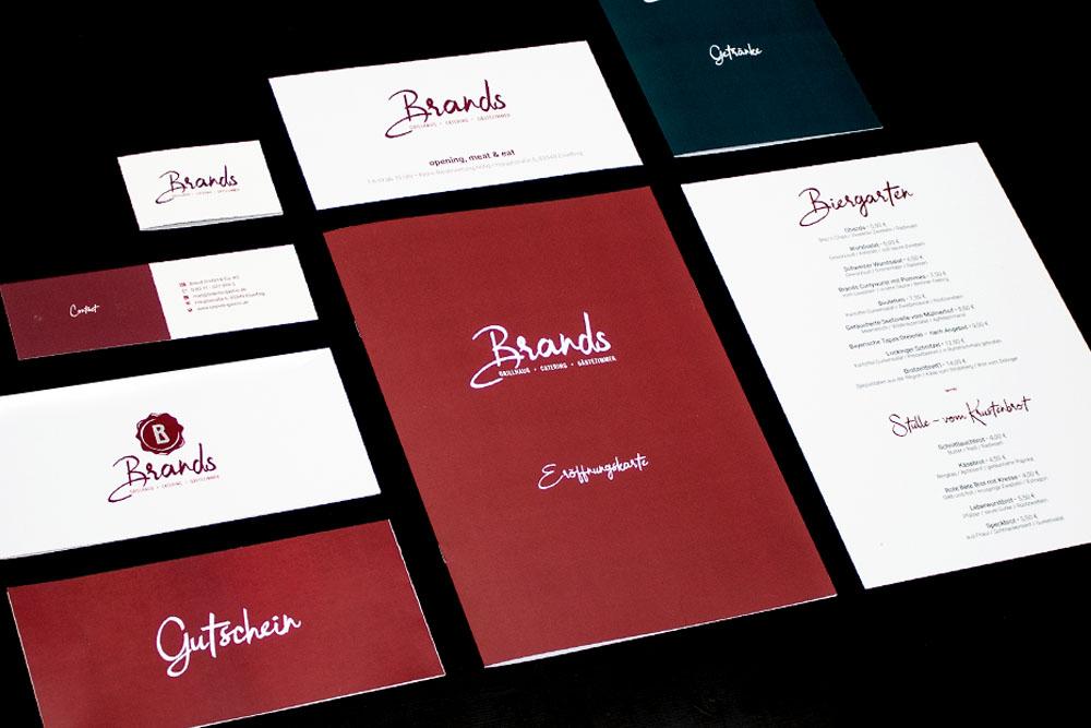 Corporate Design - Brands Grillhaus