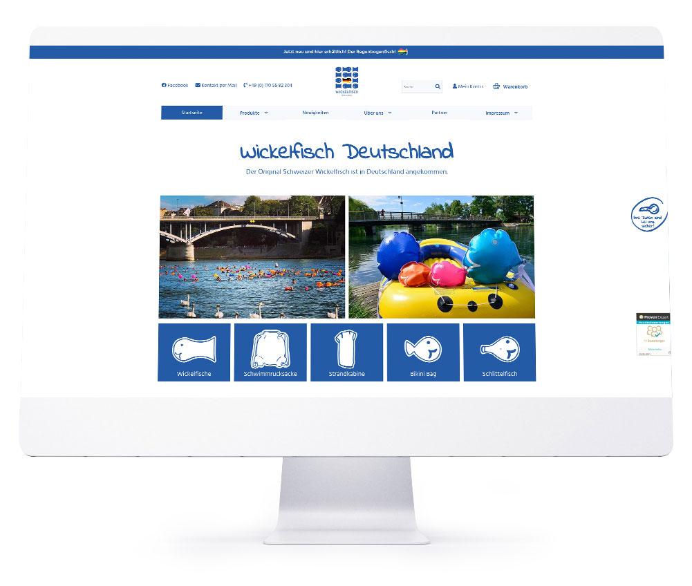 Onlineshops - Wickelfisch Deutschland