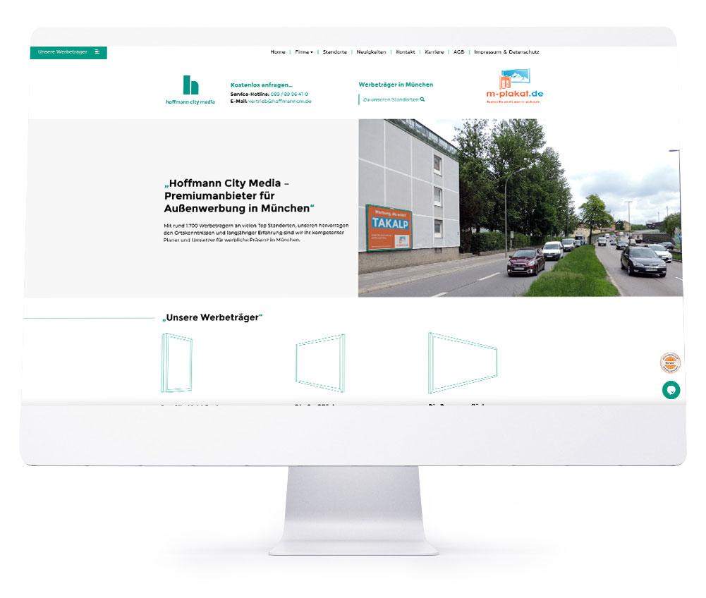 Webdesign Referenzen - Hoffmann City Media