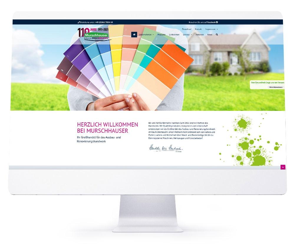 Webdesign Referenzen - Murschhauser Traunstein