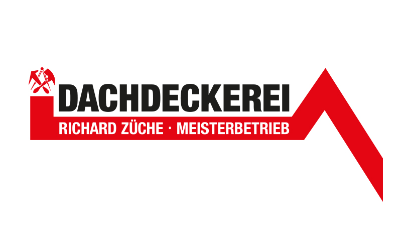 Logoentwicklung Ref - Dachdeckerei Richard Züche