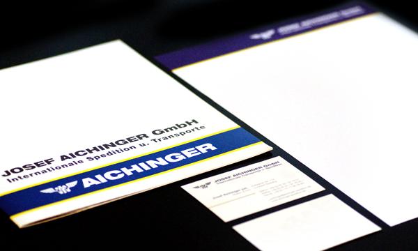 Corporate Design - Josef Aichinger GmbH
