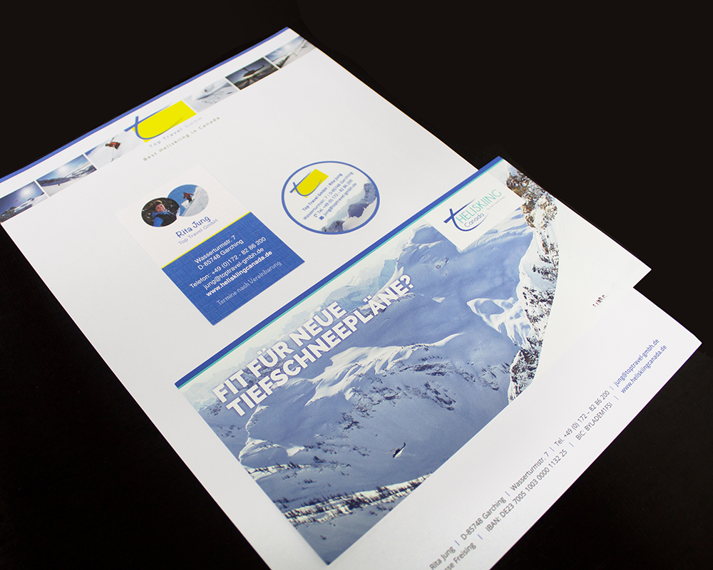 Corporate Design - Top Travel GmbH