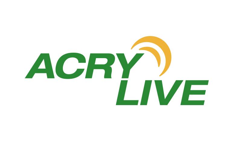 Logoentwicklung Ref - ACRY LIVE