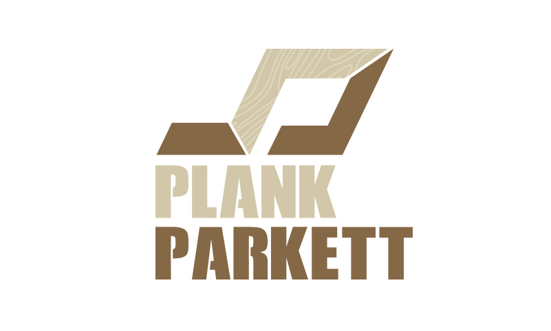 Logoentwicklung Ref - Plank Parkett
