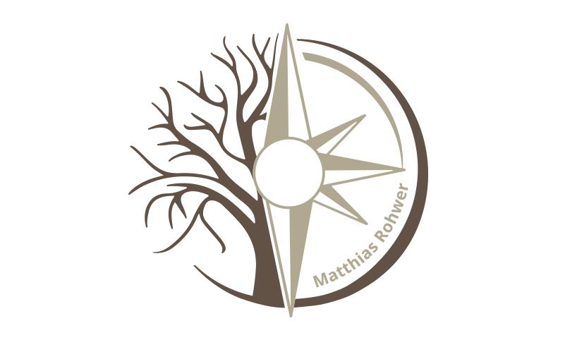 Logoentwicklung Ref - Praxis für Psychotherapie Matthias Rohwer