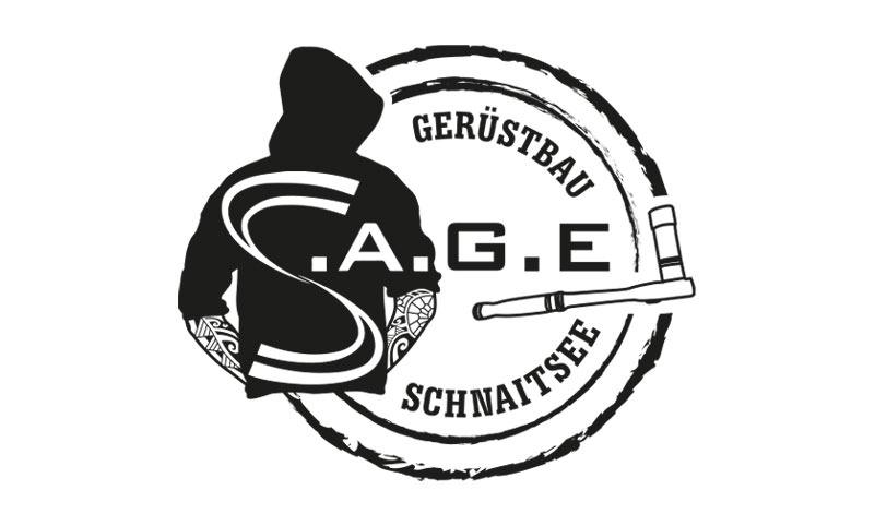 Logoentwicklung Ref - S.A.G.E Gerüstbau GmbH