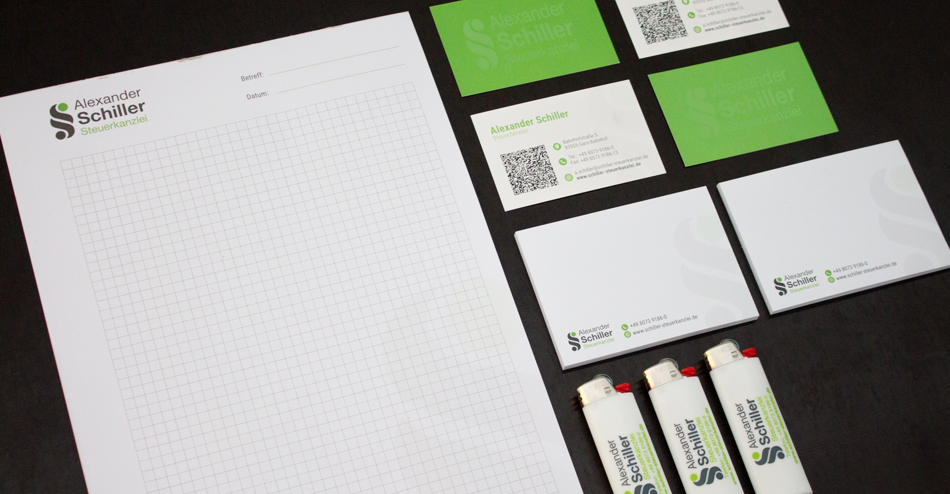 Corporate Design - Alexander Schiller Steuerkanzlei