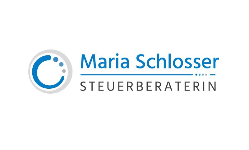 Logoentwicklung Ref - Maria Schlosser Steuerberaterin