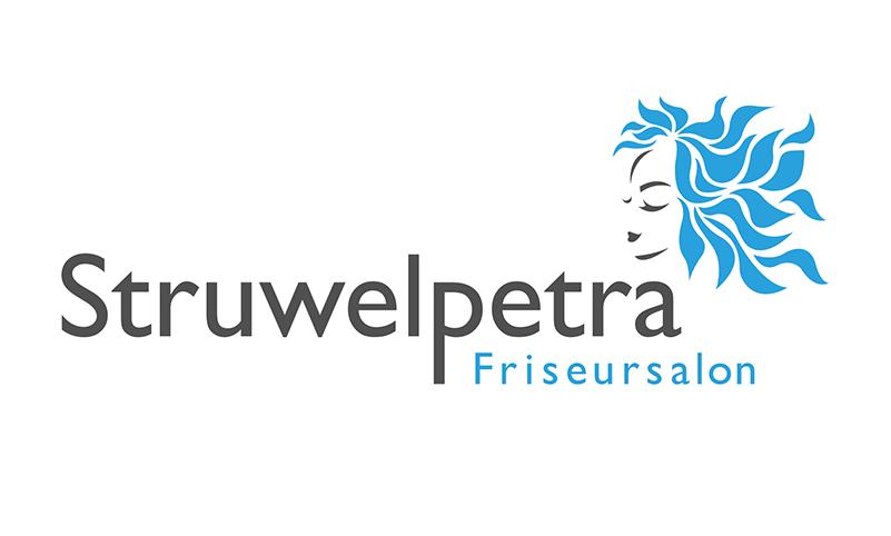 Logoentwicklung Ref - Friseursalon Struwelpetra GbR
