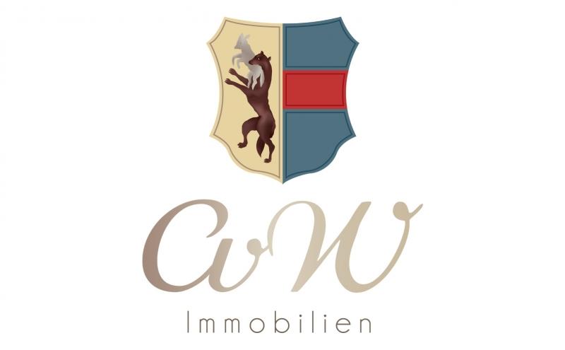 Logoentwicklung Ref - CvW Immobilien