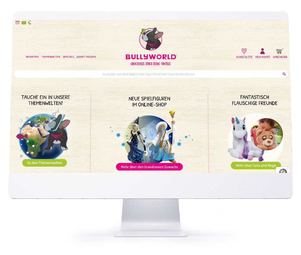 Onlineshops - Bullyworld GmbH