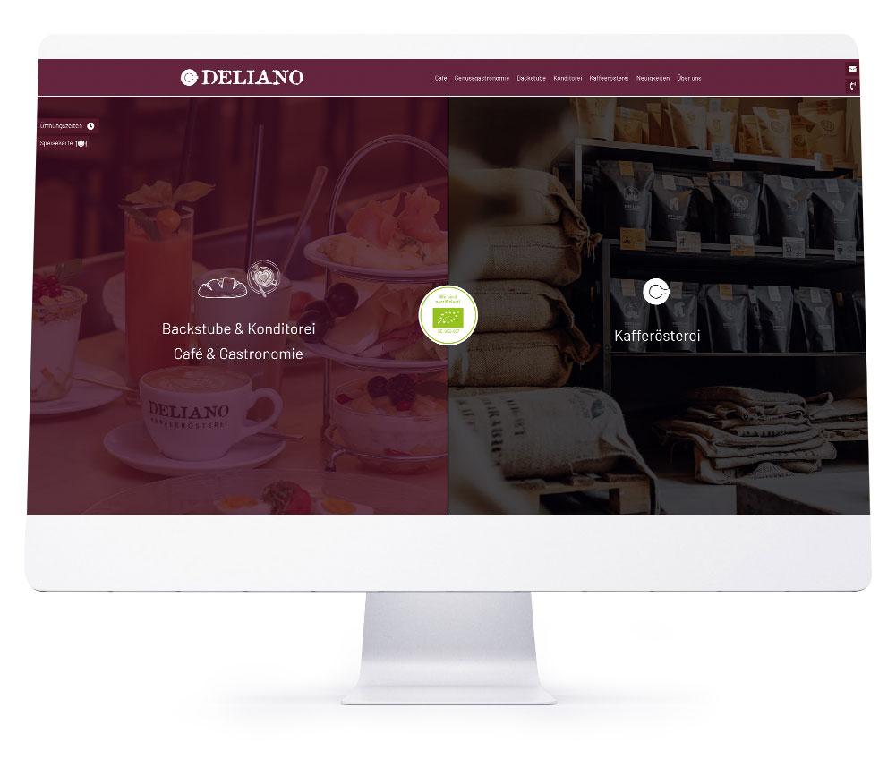 Webdesign Ebersberg - Deliano GmbH