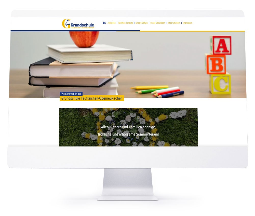 Webdesign Rosenheim - Grundschule Taufkirchen