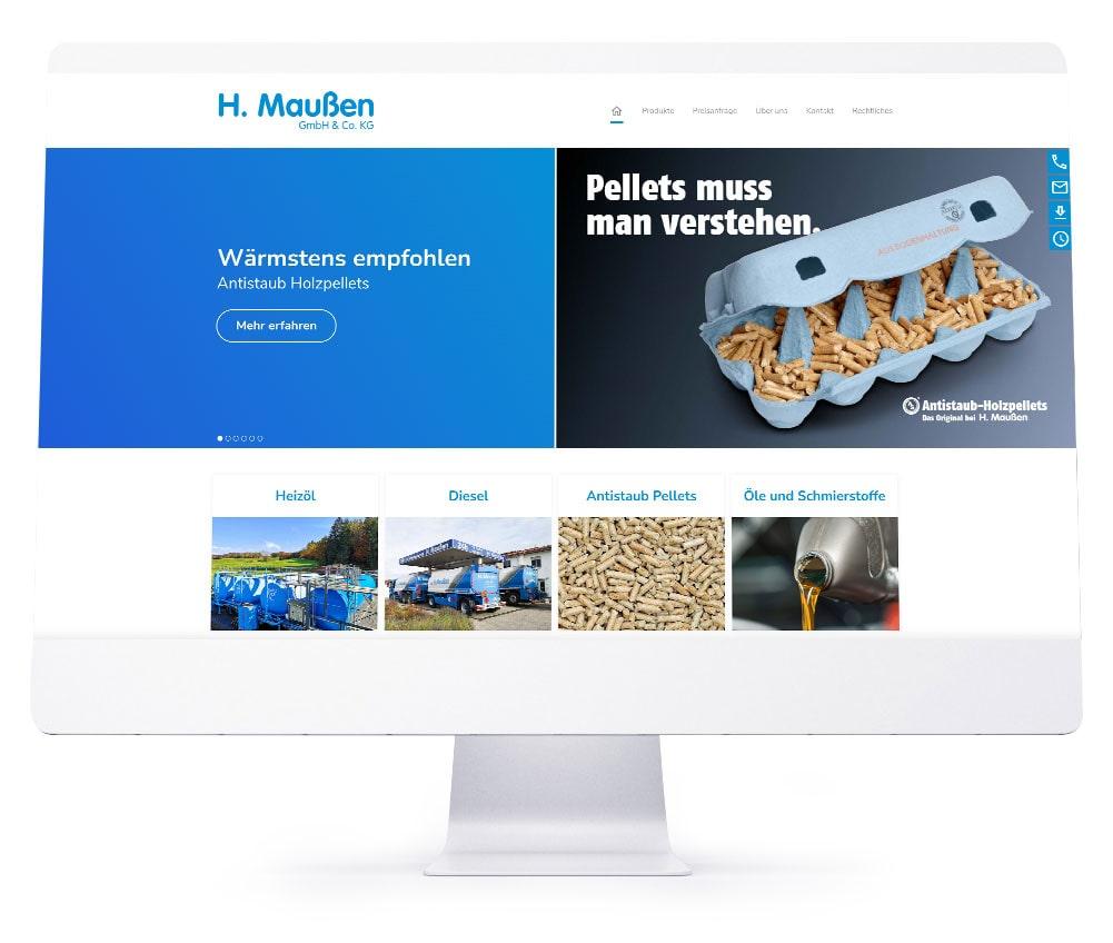 Webdesign Ebersberg - H. Maußen GmbH & Co. KG