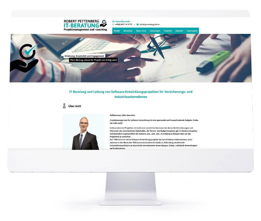 Webdesign Rosenheim - Pettenberg IT-Beratung
