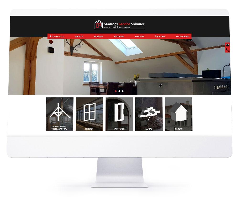 Webdesign Ebersberg - MontageService Spinnler