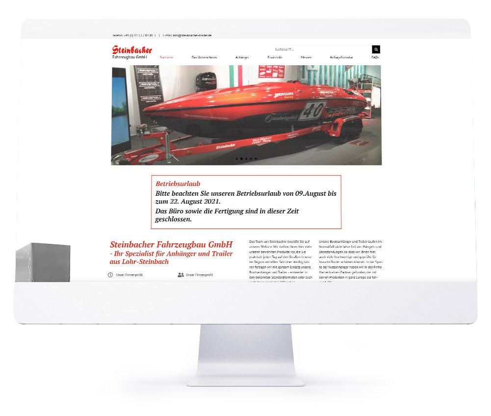 Webdesign Referenzen - Steinbacher Fahrzeugbau