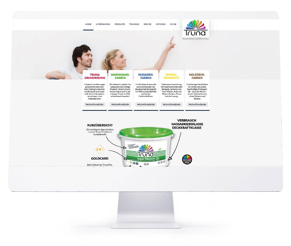 Webdesign Referenzen - Truna