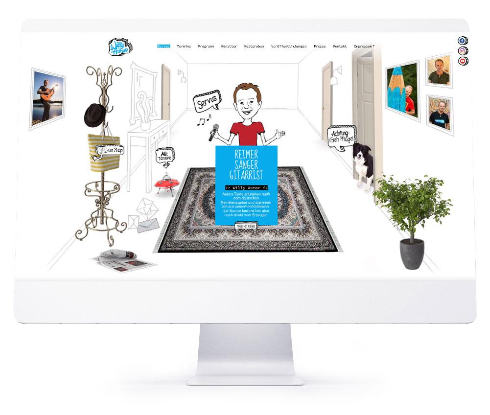 Die perfekte Webseite für Ihr Hotel - Willy Astor
