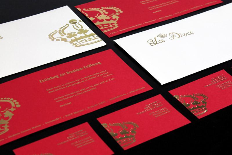 Corporate Design - La Divva