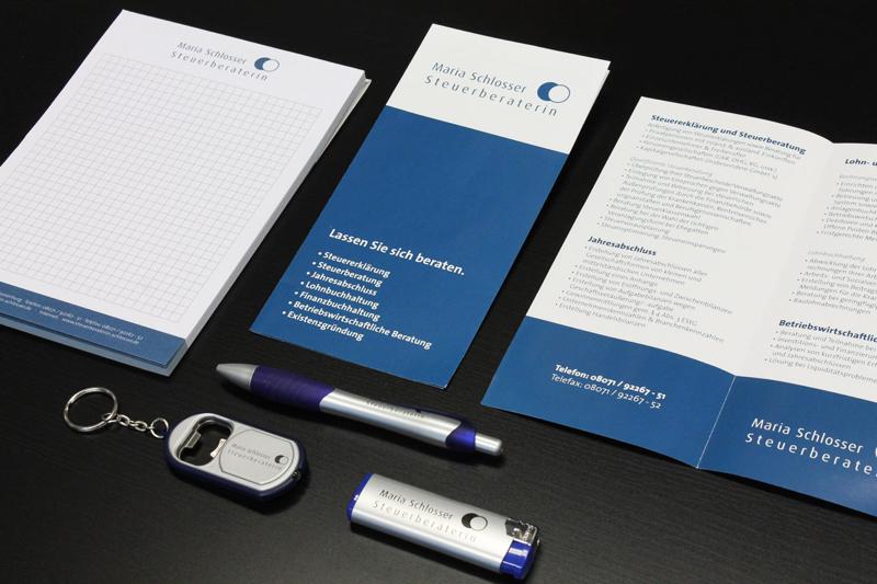 Corporate Design - Maria Schlosser Steuerberaterin