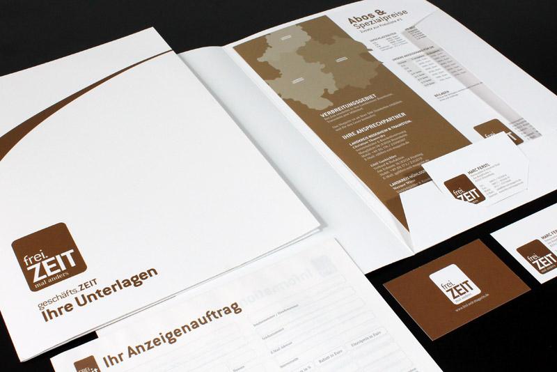 Corporate Design - Freizeit Magazin