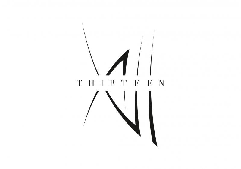 Logoentwicklung Ref - XIII Thirteen