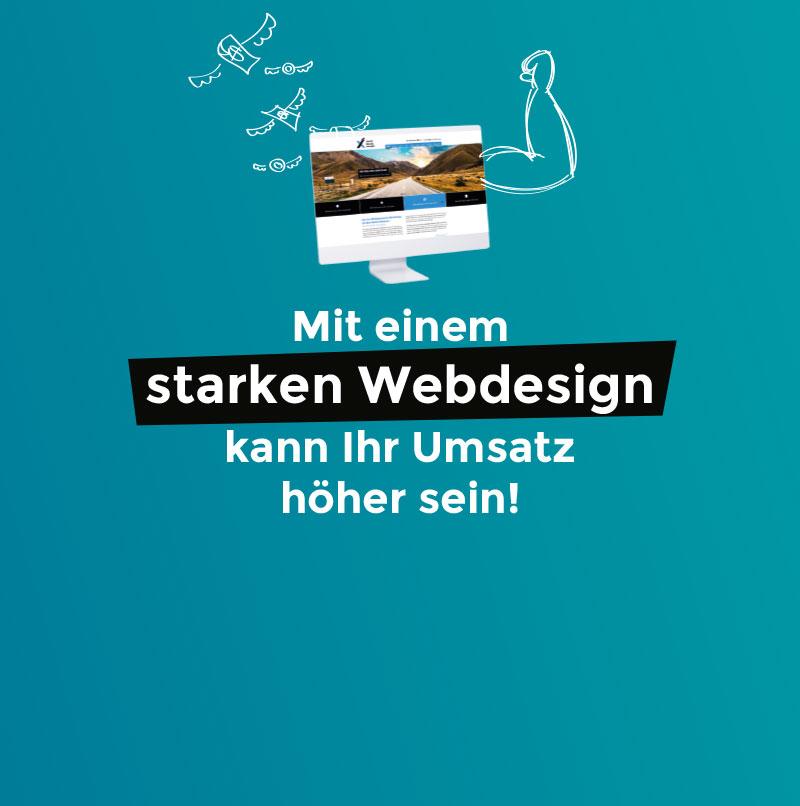 Webdesign kann Ihren Umsatz erhöhen - Webdesign Ebersberg